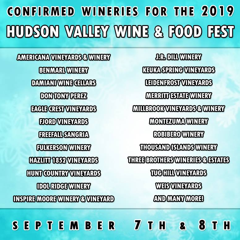 New York Wineries 2019