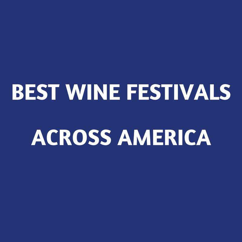 best wine festivals across america
